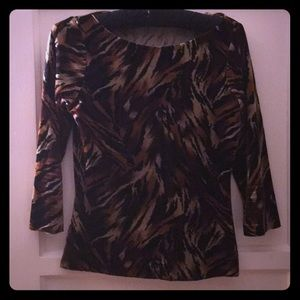 Betsey Johnson tiger top